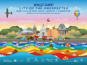 Roald Dahl's - City of the Unexpected - Cardiff