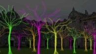 Bunnies, trees and skipping girls illuminate York