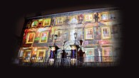 Light Up Lancaster 2016 - The Kings Bench Illuminos projection