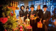 Take a trip to Christmas past with Dickensian characters and traditional entertainment