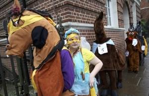 London Pantomime Horse Race 2016