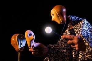 Stephen Mottram - mask removal © David Fisher