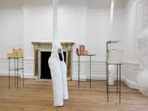 Rebecca Ackroyd 'Taken Care', 2015, exhibition view