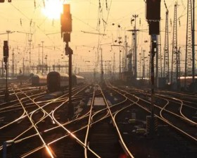 Sunset Tracks - Royal Society - Image: Arne Hückelheim