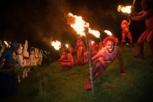 Beltane Fire Festival 2016 by Martin McCarthy