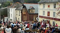 The Black Prince Flower Boat Procession - Cornwall - May Day