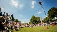 Games, acrobatics and urban safaris at Winchester's Hat Fair