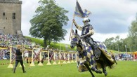 A weekend of jousting at Linlithgow Palace