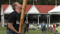 Tossing the caber and competitive haggis eating in Scotland