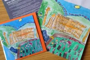 Dandy-hockney-Exhibition - Saltaire Festival