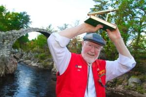 Bob Moore, 2016 World Porridge Making Champion