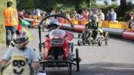 Downhill racing in the Forest of Dean with Brockweir Soapbox Derby