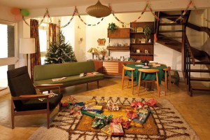 A living room in 1965 at Christmas Past (Photo: Chris Ridley)