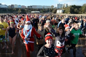 Tenby Boxing Day Swim 2017