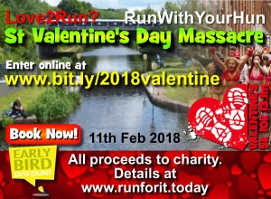 St Valentine's Day Massacre run 2018