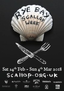 Rye Bay Scallop Week 2018 - East Sussex events