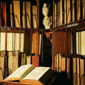 Curiosity of the Week - Wimborne Chained Library - Dorset