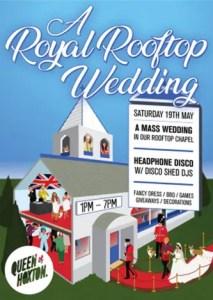 Royal Rooftop Wedding - London - Royal Wedding events 2018