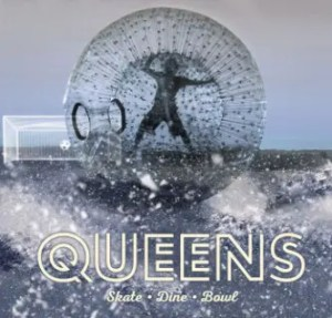QUEENS - human zorbing on ice London - World Cup 2018