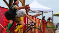 The HandleBards cycle their way around the UK
