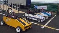 Gravity racing teams take on the Harewood challenge
