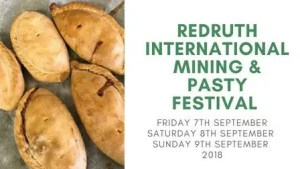 Redruth International Mining & Pasty Festival 2018 - Cornwall events
