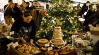 Pear Tree Cafe London, Christmas Market 2018