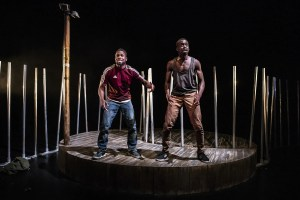 The Fishermen - Valentine Olukoga and Michael Ajao - credit Pamela Raith
