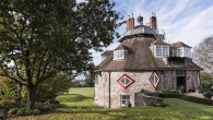Exterior view of A la Ronde, Devon