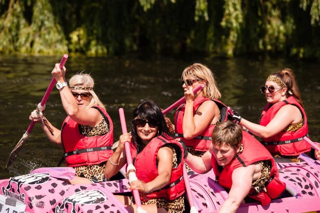Olney RiverFest Raft Race