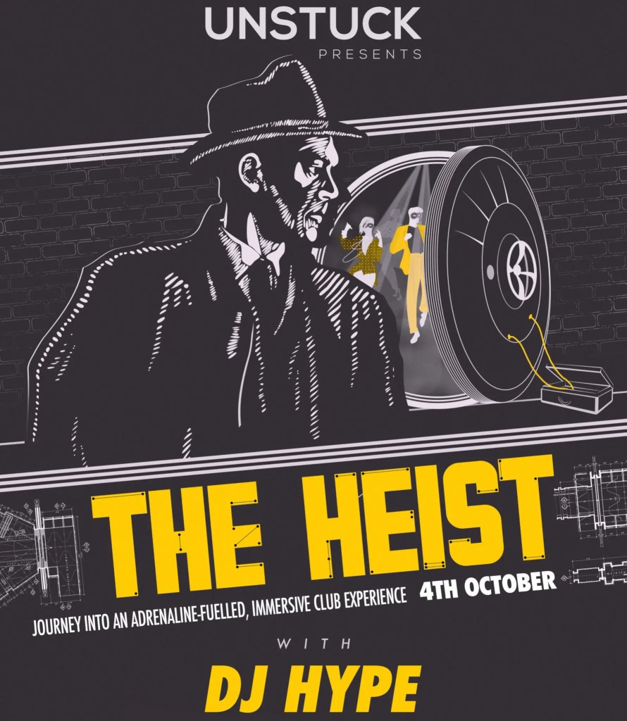 The Heist immersive club night