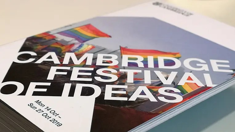 Cambridge Festival of Ideas 2019