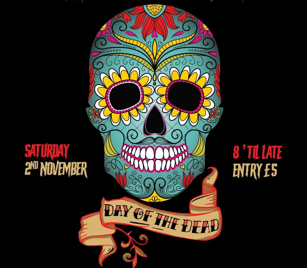 Day of the Dead party at The Mesmerist, Brighton