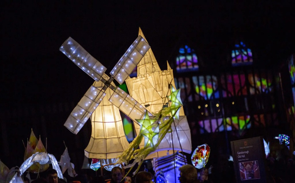 Being Human festival - Illuminate Gainsborough - CREDIT West Lindsey District Council and Electric Egg resized
