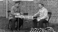 Two German officer prisoners playing chess ©W.W.Winters Ltd