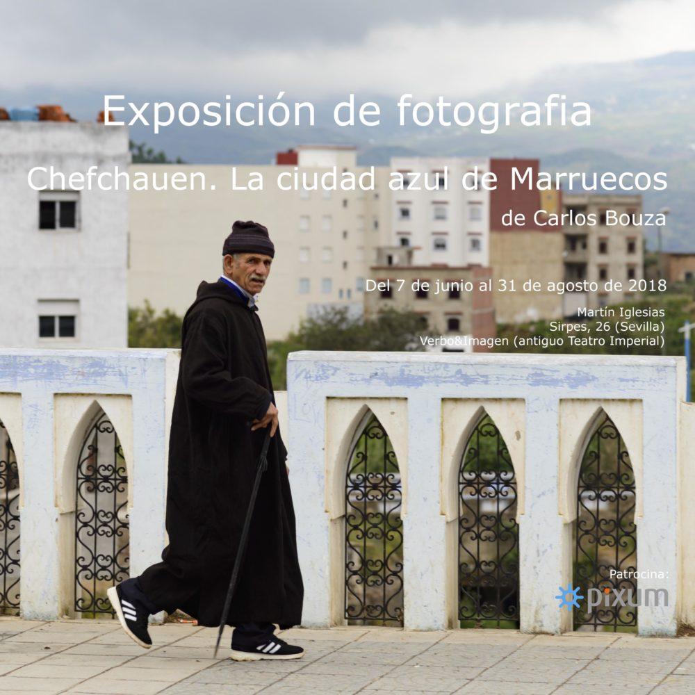 """Exposición fotográfica """"Chefchauen. La ciudad azul de Marruecos""""."""