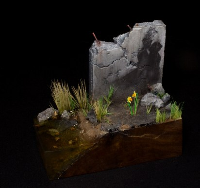 Fine Art Miniature scratchbuilt and painted by Matt DiPietro Contrast Miniatures