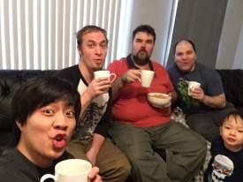 Drinking Poop Coffee :P