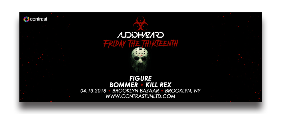 Audiohazard (Friday the 13th) w/ Figure, Bommer, Kill Rex
