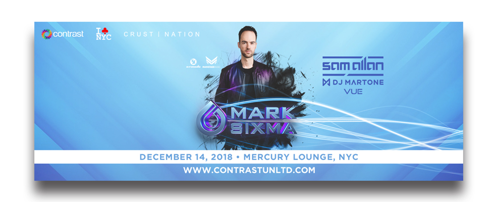 Mark Sixma at Mercury Lounge