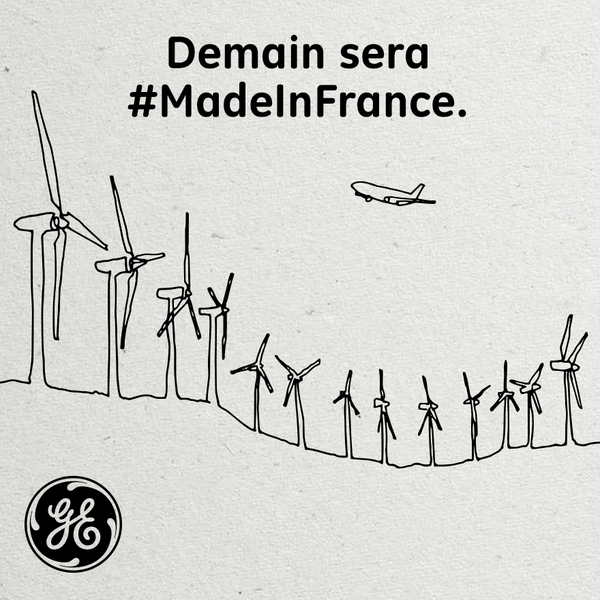 General Electric publicite France 2014