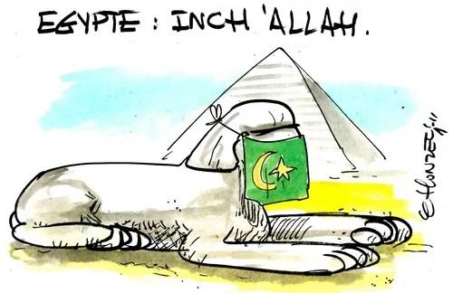 Egypte : inch allah