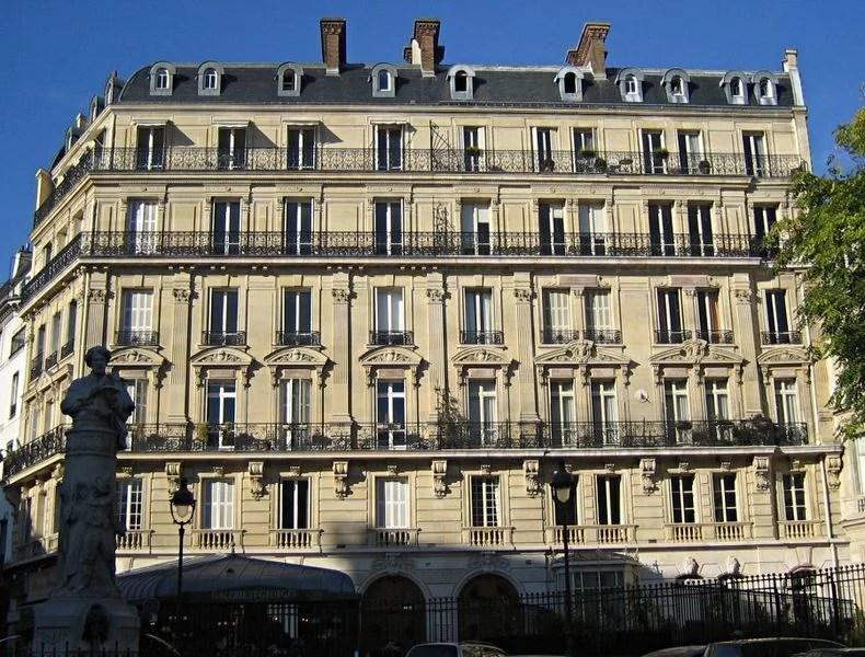 Immeubles parisiens place Saint Georges