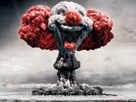 Explosion atomique clownesque