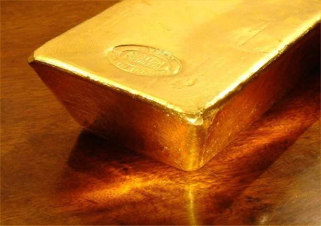 Lingot d'or (Crédits Bullion Vault, licence Creative Commons)