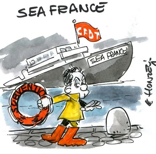 SeaFrance - (Le Honzec)
