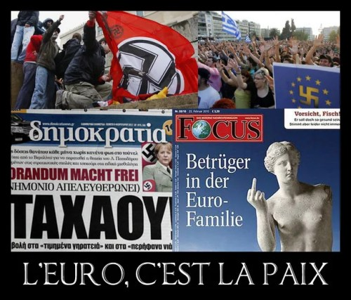 L'Euro c'est la paix