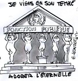 Fonction publique (Crédits : René Le Honzec/Contrepoints.org, licence CC-BY 2.0)