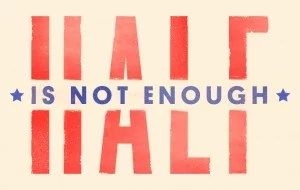 half is not enough