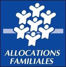 logo caf - allocations familiales